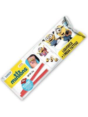 Minions Minions 2 Gesuikerde Vruchten Gelei Sticks Emt Tattoo Card - 1 Stuks