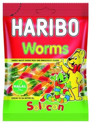 Haribo Haribo Worms Halal - 100 Gram