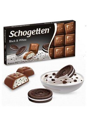 Schogetten Schogetten Chocolade Black & White - 100 Gram