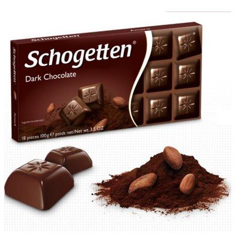 Schogetten Schogetten Chocolade Dark - 100 Gram