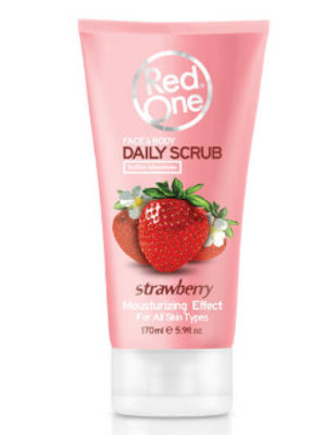 Red one Red One Face & Body Daily Scrub Strawberry - 170 Ml