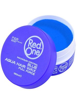 Red one Red One Blauw Haar Wax - 150ml