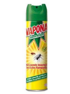Vapona Vapona Green Action Kruipende Insect Spray - 400ml