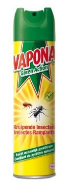 Image of Vapona Vapona Green Action Kruipende Insect Spray - 400ml