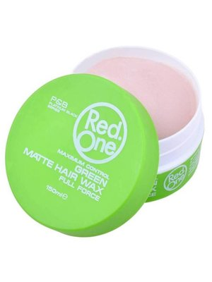 Red one Red One Groen Matte Haar Wax - 150ml