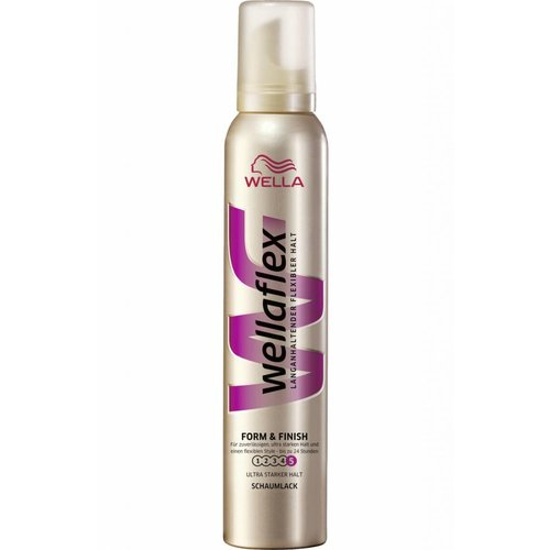 Wella Wella Wellaflex Haarmousse Form & Finish - 200 Ml