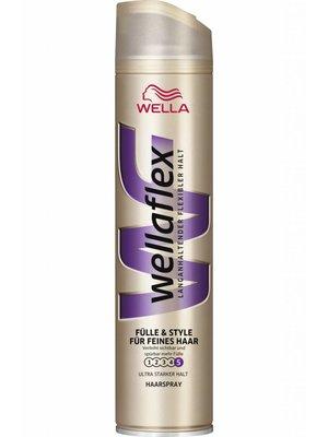 Wella Wella Wellaflex Haarspray Fullness Ultra Strong - 200 Ml UITVERKOCHT!!!!!