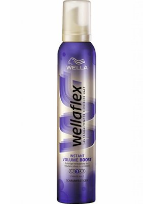 Wella Wella Wellaflex Haarmousse Instant Volume Boost - 200 Ml