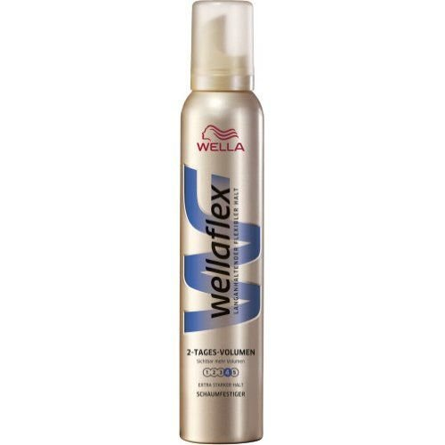 Wella Wella Wellaflex Haarmousse 2nd Day Volume Extra Sterk - 200 Ml