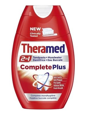 Theramed Theramed Tandpasta 2in1 Complete Plus - 75 Ml
