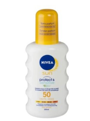 Nivea Nivea Sun Protect & Sensitive Spray Spf 50 - 200 Ml