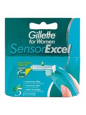 Gillette Gillette Woman Sensor Excel Mesjes - 5 Stuks Uitverkocht!!!
