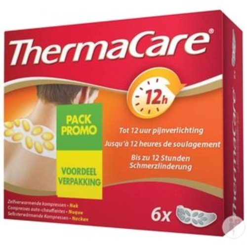 Thermacare Thermacare Nek Schouder Pols Promo - 6 Stuks