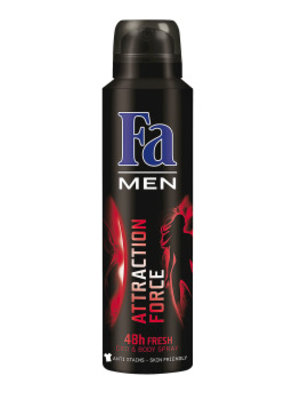Fa Fa Men Deospray Attraction Force - 150 Ml