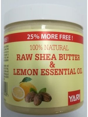 Yari Yari 100% Pure Shea Butter&Lemon Essentail Oil 250 ml