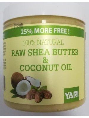 Yari Yari 100% Pure Shea Butter&Coconut Oil 250 ml