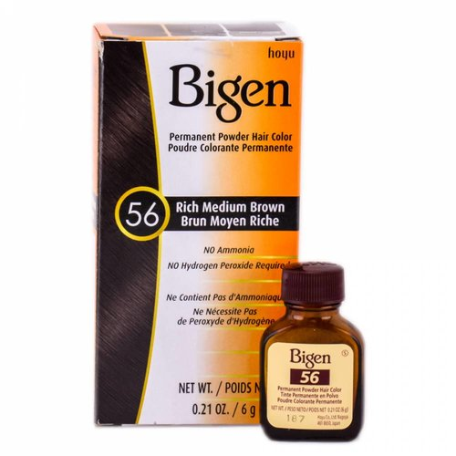 Bigen Bigen Permanent Powder Hair Color Medium Brown  56