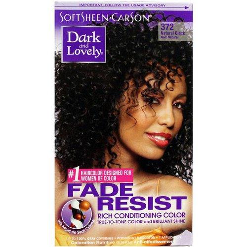 Dark & Lovely Dark & Lovely Permanent Haircolor Black 372