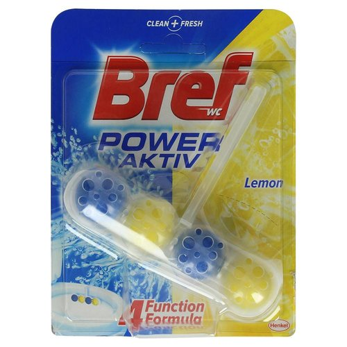Bref Bref Power Aktive Toiletblok Lemon - 50 Gram