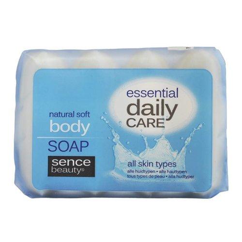 SENCEBEAUTY Sencebeauty Essentail Daily Care Zeep Natural Soft - 4x60 Gram