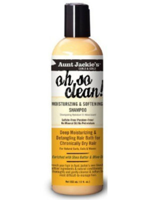 Aunt Jackie's Aunt Jackie's Oh So Clean Moisturizing & Softening Shampoo 355 ml