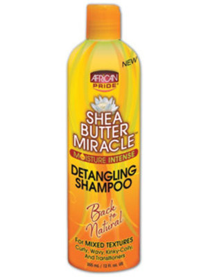 African Pride African Pride Shea Butter Miracle Moisture Intense Detangling Shampoo  355 ml