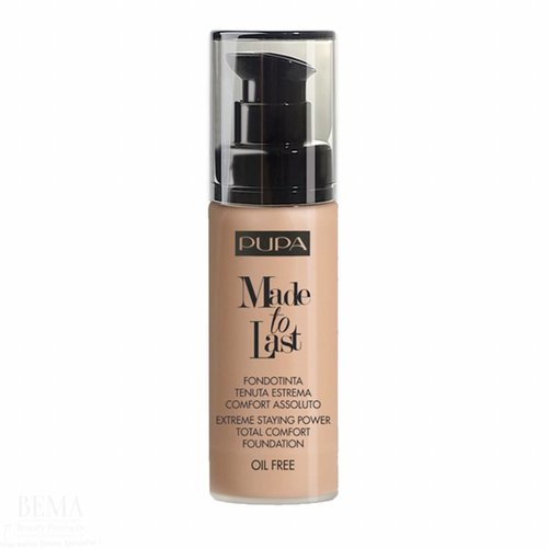 Pupa PUPA MILANO MADE TO LAST FOUNDATION 060 GOLDEN BEIGE - 30 ML