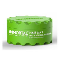 Immortal Hairwax Matt Natural Finish Groen 150 ml