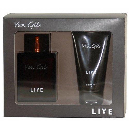 Van Gils Van Gils Live Cadeauverpakking Edt Spray 75 Ml & Showergel - 1 Stuks