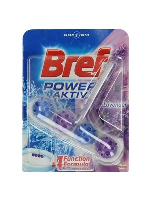Bref Bref Power Aktive Toiletblok Lavendel - 50 Gram