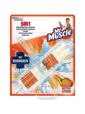 Mr Muscle Mr Muscle 5 In 1 Wc Blok Citrus Bleek -1 Stuks UITVERKOCHT!!!