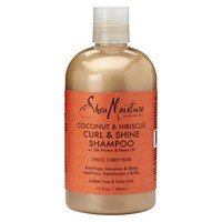 Shea Moisture Coconut & Hibiscus Curl & Shine Shampoo 384 ml