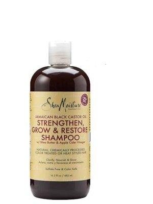 Shea Moisture Shea Moisture Jamaican Black Castor Oil Strengthen, Grow & Restore Shampoo 482 ml