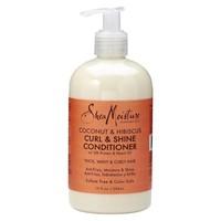 Shea Moisture Coconut & Hibiscus Curl & Shine Conditioner 384 ml