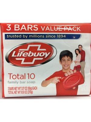 Lifebuoy Lifebuoy Zeep - 3x90 Gram