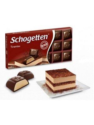 Schogetten Schogetten Chocolade Tiramisu - 100 Gram