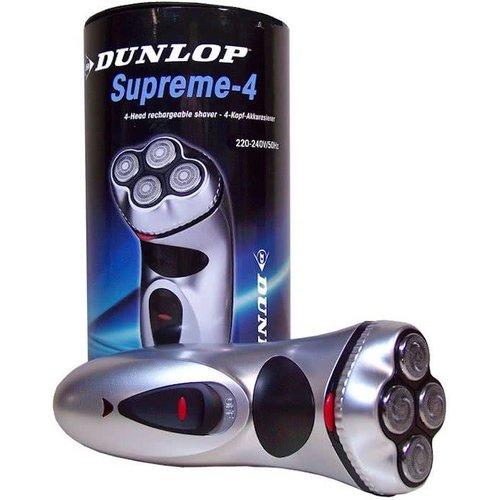 Dunlop Dunlop Supreme-4 Oplaadbaar Scheerapparaat 4 Kop - 1 Stuks