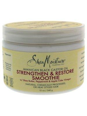 Shea Moisture Shea Moisture Jamaican Black Castor Strenghten&Restore Smoothie Moisterize  340 Gram