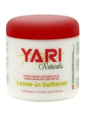 Yari Yari Naturals Leave In Softener Coconut&Jamacian Black Castor Oil  475  ml