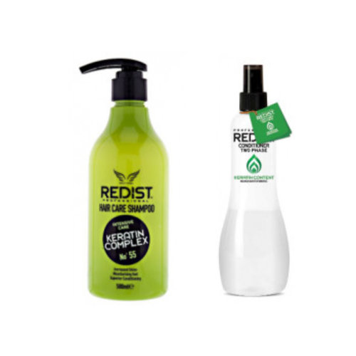 Redist Redist Shampoo Keratine+Conditioner Keratine -1 Stuks