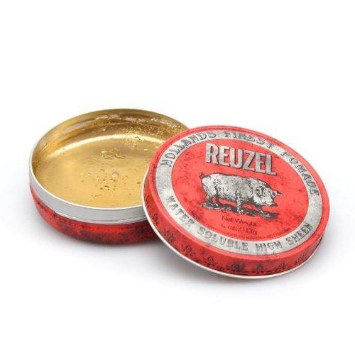 Reuzel Reuzel Pomade Red Water Soluble High Sheen - 113 Gram