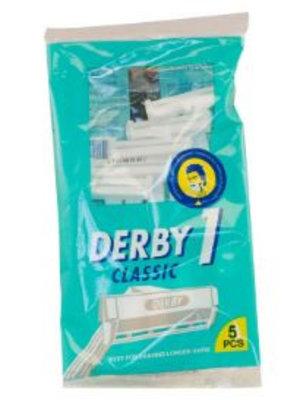 Derby Derby Classic 1 Wegwerpmesjes - 5 Stuks