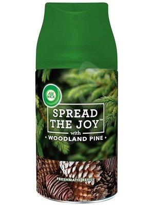 Airwick Airwick Freshmatic Navul Spread The Joy With Woodland Pine - 250 Ml