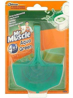 Mr Muscle Mr Muscle Wc Blokjes 4 In 1 Aqua Green - 40 Gram