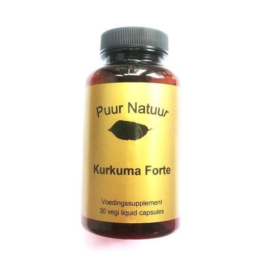 Puur Natuur Puur Natuur Kurkuma Forte - 30 Capsules