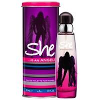 She Eau De Toilette Spray She Is An Angel - 50 Ml