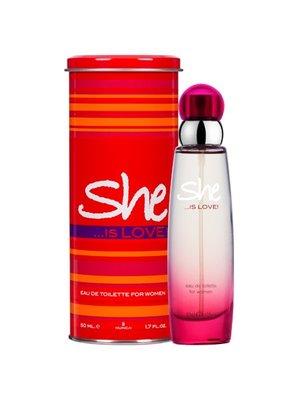 She She Eau De Toilette Spray She Is Love - 50 Ml