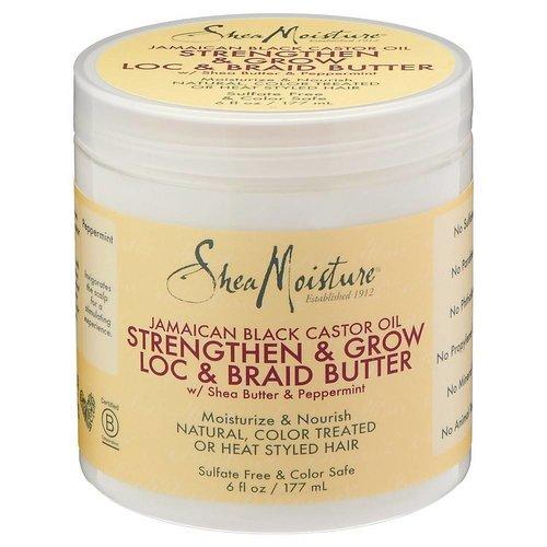 Shea Moisture Shea Moisture Jamaican Black Castor Strenthen & Restore Loc & Braid Butter 170 Gram