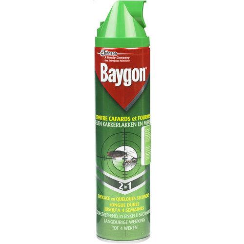 Baygon Baygon Spray Tegen Kakkerlakken & Mieren - 400 Ml