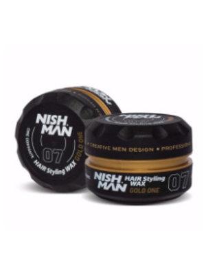 Nishman Nishman 07 Styling Wax Gold One - 150 Ml UITVERKOCHT!!!!!